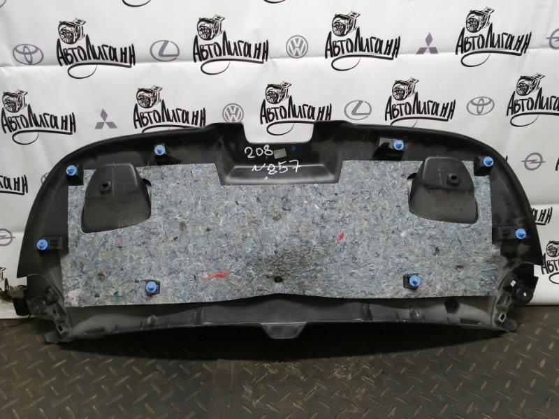 Обшивка крышки багажника Peugeot 208 EB0 2013 (б/у)