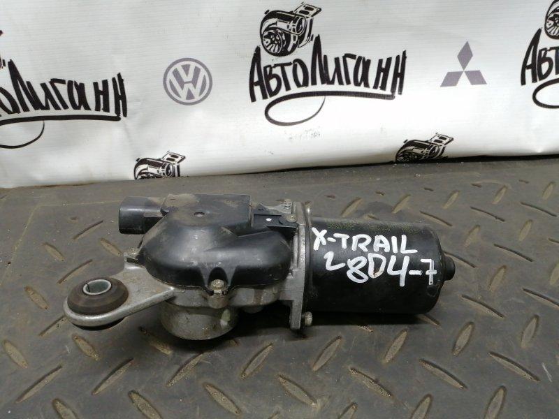 Мотор дворников Nissan X-Trail MR20 2011 передний (б/у)