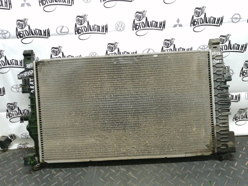 Радиатор охлаждения Chevrolet Cruze СЕДАН Z18XER 2013 (б/у)