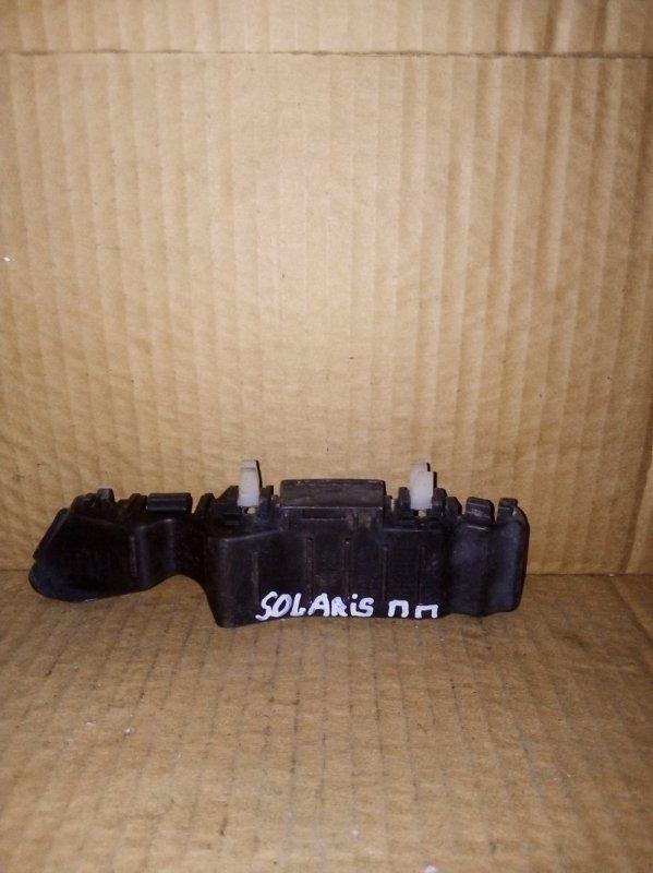 Кронштейн бампера Hyundai Solaris 2008 передний правый (б/у)