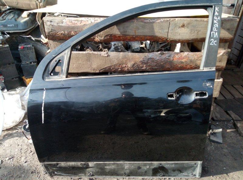 Дверь Nissan Qashqai MR20 2011 передняя левая (б/у)