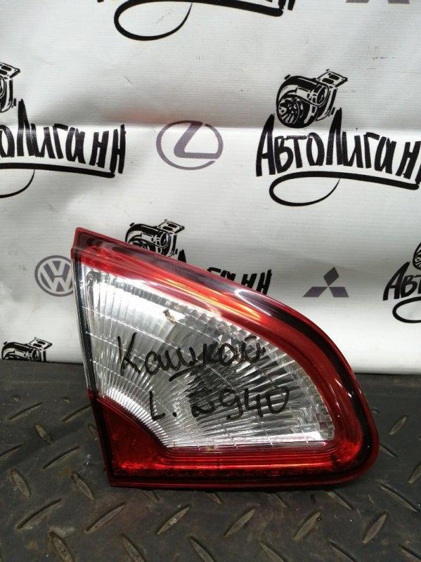 Фонарь Nissan Qashqai MR20 2011 задний левый (б/у)