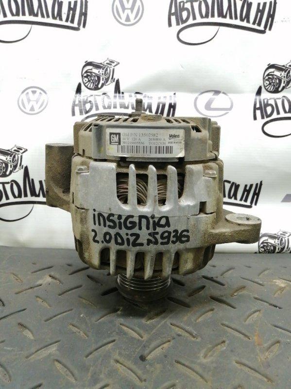 Генератор Opel Insignia A20DTH 2009 (б/у)