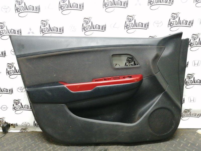 Обшивка двери Kia Rio СЕДАН G4FC 2012 передняя левая (б/у)