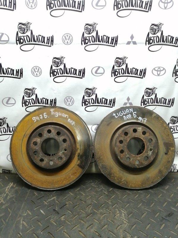 Тормозной диск Volkswagen Tiguan CTH 2012 передний (б/у)