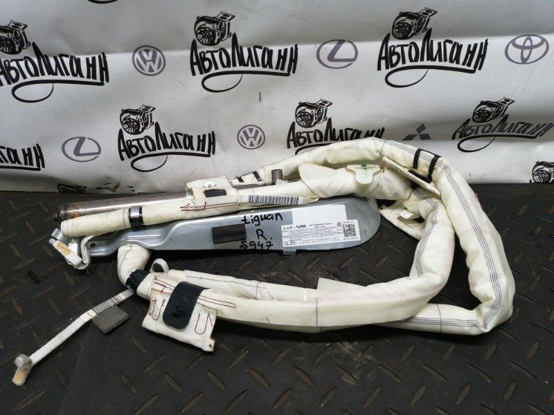 Шторка безопасности Volkswagen Tiguan CTH 2012 правая (б/у)