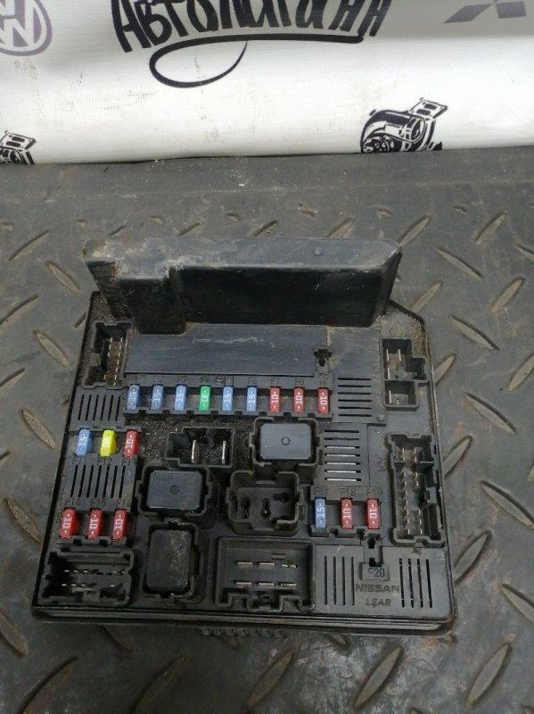 Блок предохранителей Nissan Qashqai MR20 2011 (б/у)