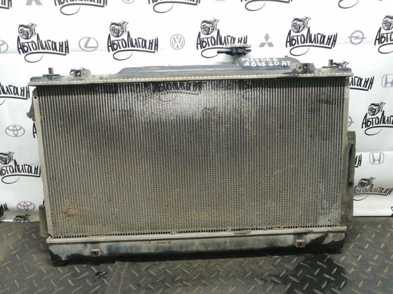 Радиатор охлаждения Mazda 6 Gh ЛИФТБЕК 2008 (б/у)