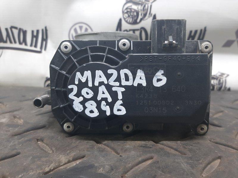 Дросельная заслонка Mazda 6 Gh ЛИФТБЕК 2008 (б/у)
