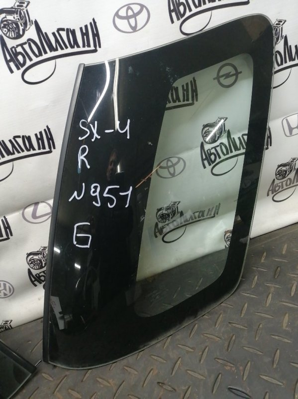 Форточка в крыло Suzuki Sx 4 M16A 2010 задняя (б/у)