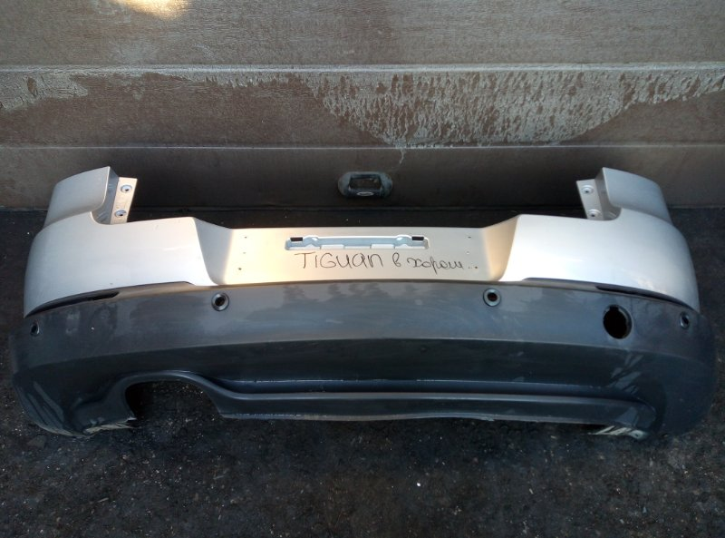 Бампер Volkswagen Tiguan CTH 2012 задний (б/у)