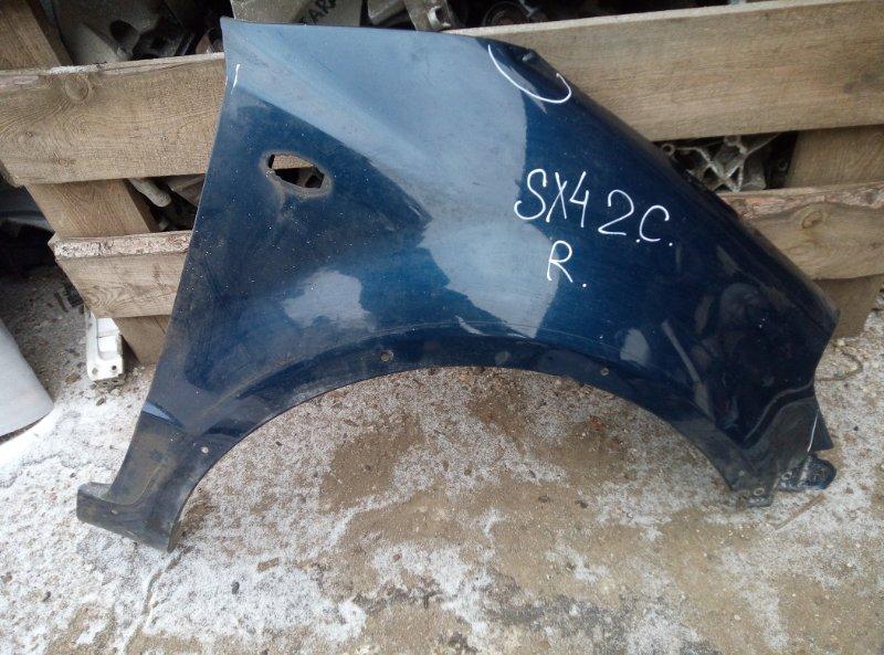 Крыло Suzuki Sx 4 M16A 2010 правое (б/у)