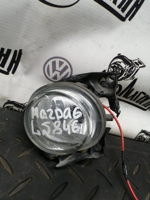 Фара противотуманная Mazda 6 Gh ЛИФТБЕК 2008 передняя левая (б/у)