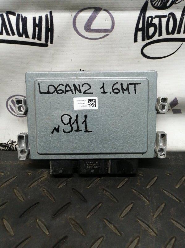 Блок управления двигателем Renault Logan 2 K7MA812 2015 (б/у)