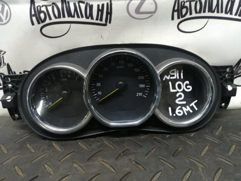 Щиток приборов Renault Logan 2 K7MA812 2015 (б/у)