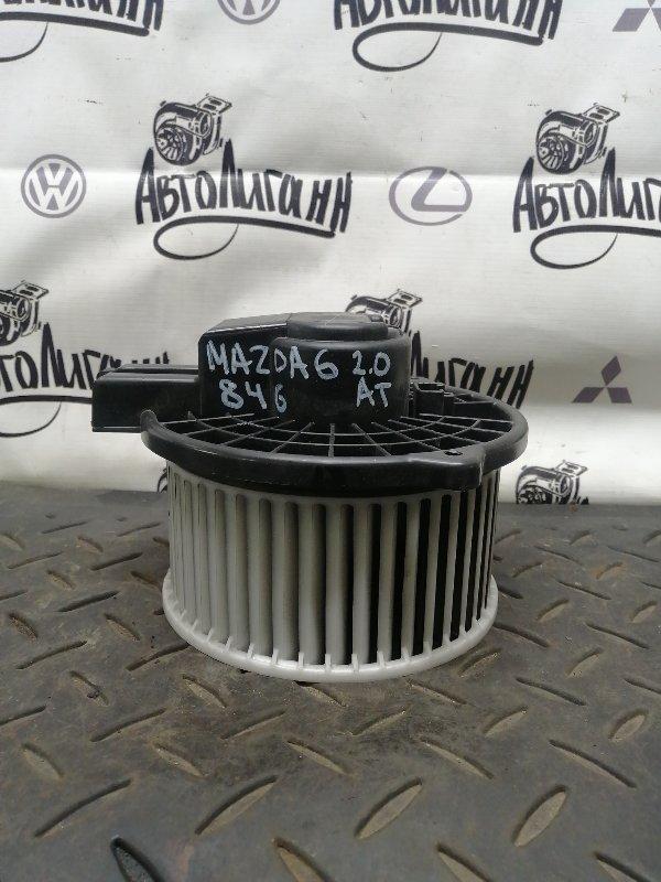 Моторчик печки Mazda 6 Gh ЛИФТБЕК 2008 (б/у)