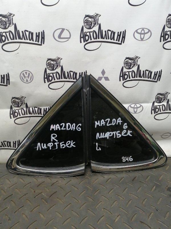 Форточка в крыло Mazda 6 Gh ЛИФТБЕК 2008 задняя (б/у)
