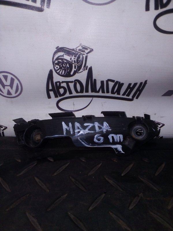 Кронштейн бампера Mazda 6 Gh ЛИФТБЕК 2008 передний правый (б/у)