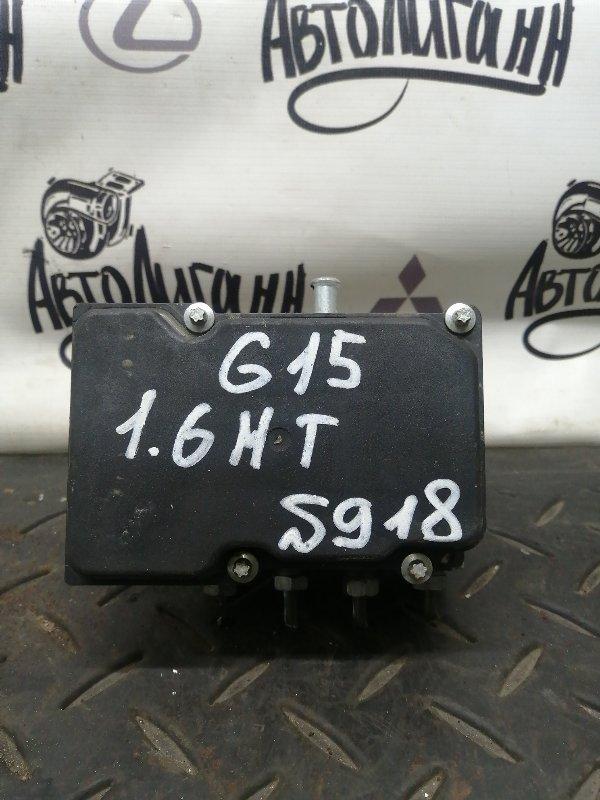Блок abs Nissan Almera G15 K4MF496 2017 (б/у)