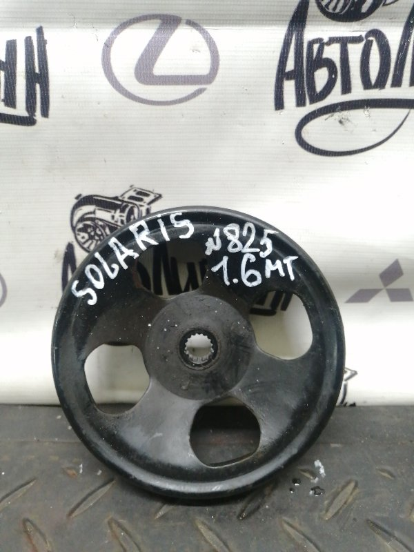 Шкив насоса гидроусилителя Hyundai Solaris СЕДАН G4FC 2012 (б/у)
