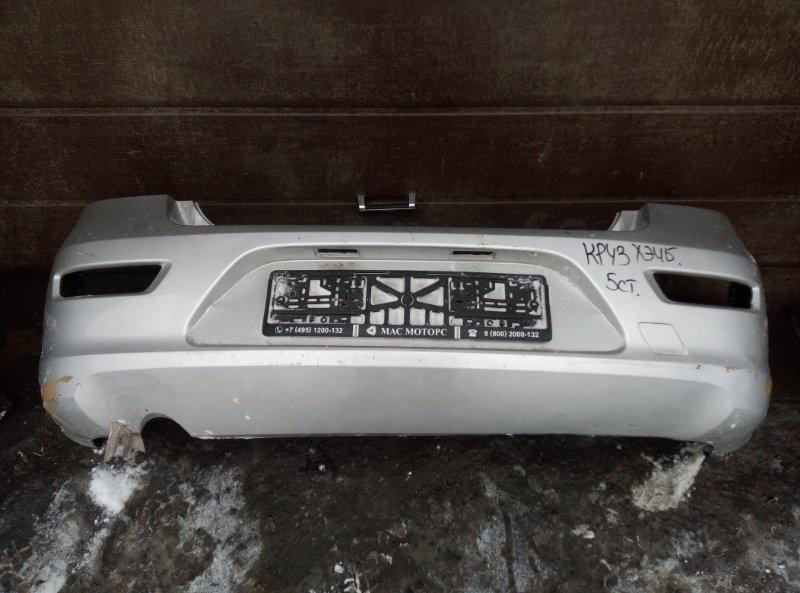 Бампер Chevrolet Cruze ХЭТЧБЕК F16D3 2012 задний (б/у)