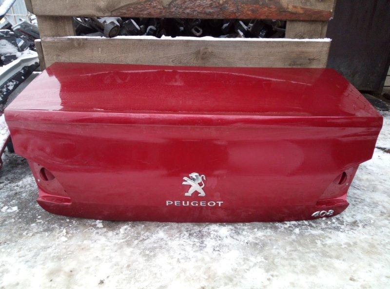 Крышка багажника Peugeot 408 EP6 2012 (б/у)