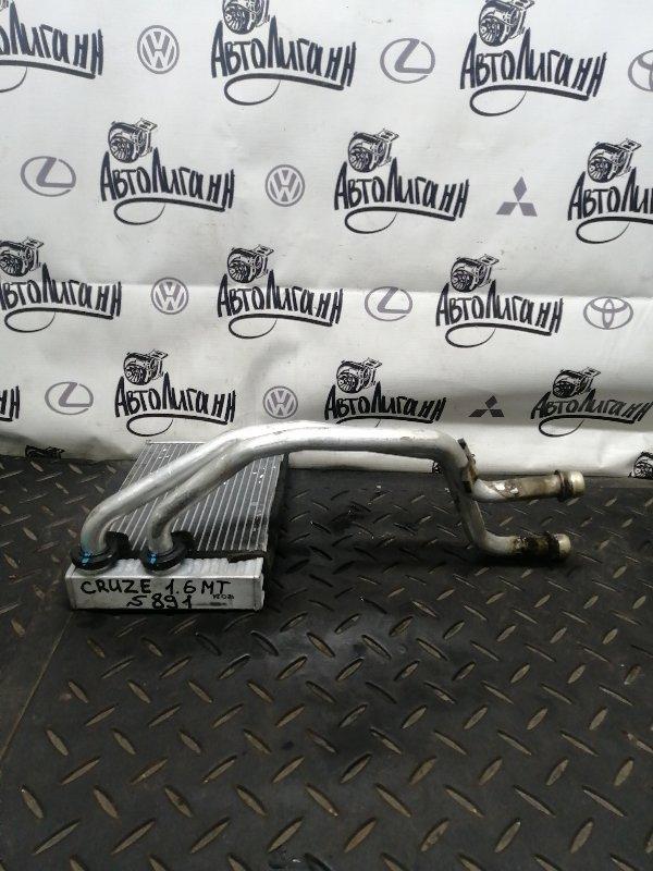 Радиатор печки Chevrolet Cruze ХЭТЧБЕК F16D3 2012 (б/у)