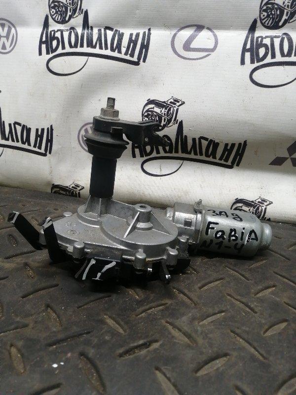 Мотор дворников Skoda Fabia задний (б/у)