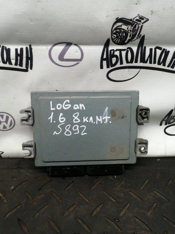 Блок управления двигателем Renault Logan K7MF710 2011 (б/у)