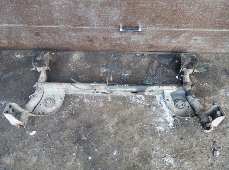Балка подвески задняя Renault Logan K7MF710 2011 (б/у)