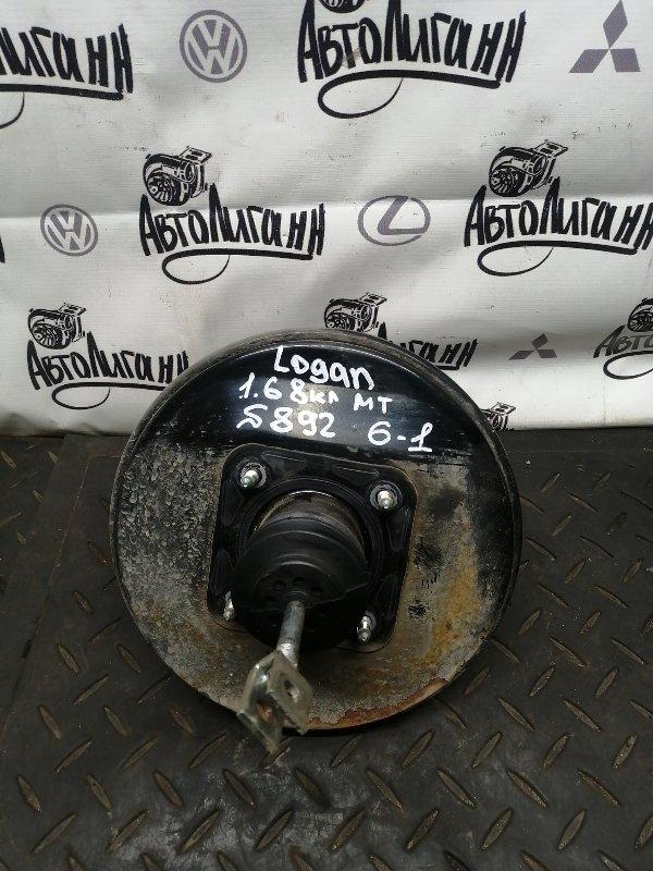 Вакуумный усилитель тормозов (вут) Renault Logan K7MF710 2011 (б/у)
