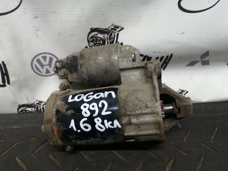 Стартер Renault Logan K7MF710 2011 (б/у)
