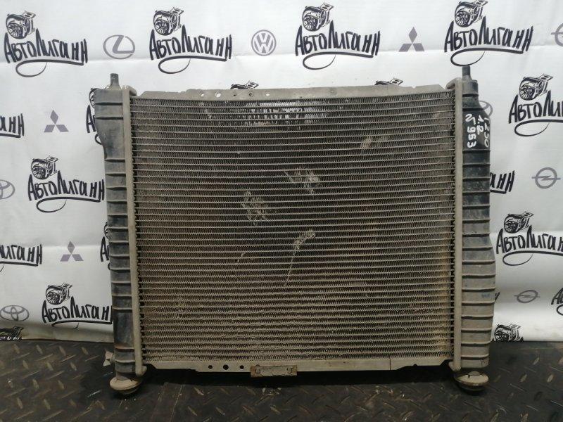 Радиатор охлаждения Chevrolet Aveo T 250 B12S1 2007 (б/у)