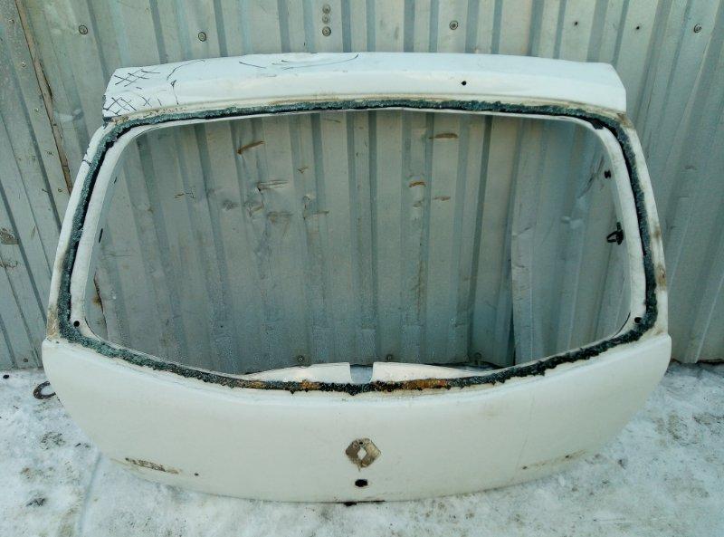 Крышка багажника Renault Sandero K7JA710 2013 (б/у)