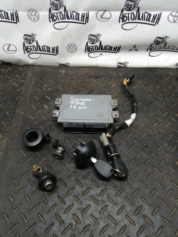 Блок управления двигателем Renault Sandero K7JA710 2013 (б/у)
