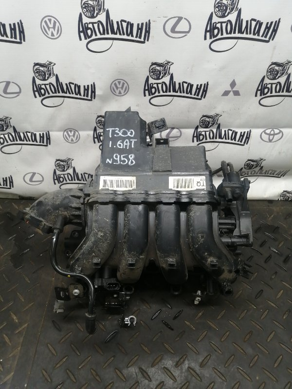 Коллектор впускной Chevrolet Aveo T300 F16D4 2012 (б/у)