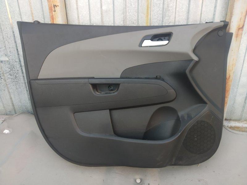 Обшивка двери Chevrolet Aveo T300 F16D4 2012 (б/у)