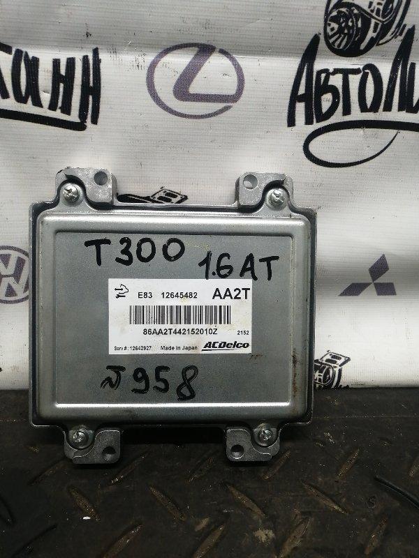 Блок управления двигателем Chevrolet Aveo T300 F16D4 2012 (б/у)