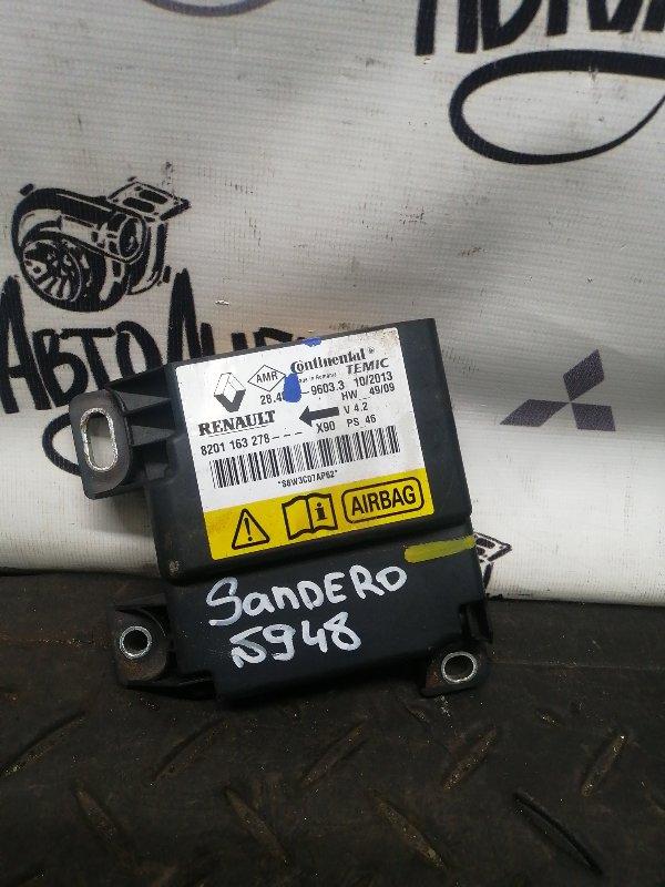 Блок srs Renault Sandero K7JA710 2013 (б/у)