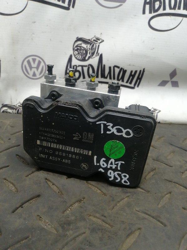 Блок abs Chevrolet Aveo T300 F16D4 2012 (б/у)