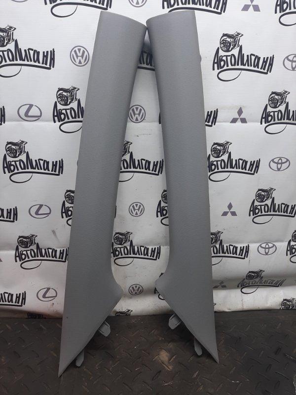 Обшивка стойки лобового стекла Hyundai Solaris ХЭТЧБЕК G4FA 2013 (б/у)