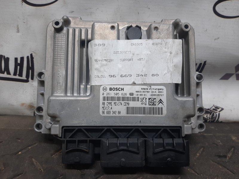 Блок управления двигателем Citroen C4 ХЭТЧБЕК EP6 2010 (б/у)