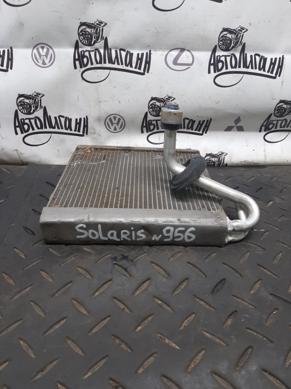 Испаритель кондиционера Hyundai Solaris ХЭТЧБЕК G4FA 2013 (б/у)