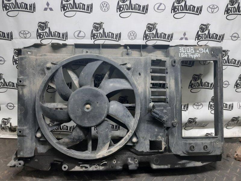 Телевизор (суппорт радиаторов) Peugeot 3008 EP6CDTMD 2012 (б/у)