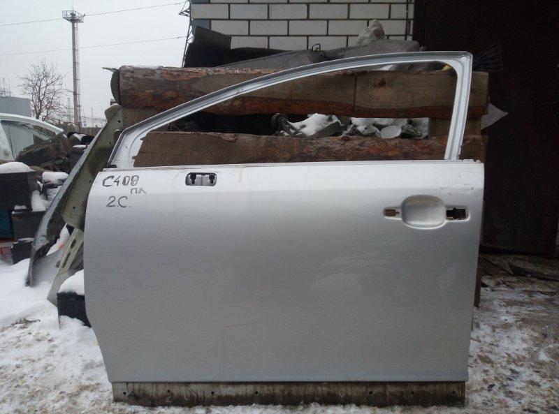 Дверь Citroen C4 ХЭТЧБЕК EP6 2010 передняя левая (б/у)