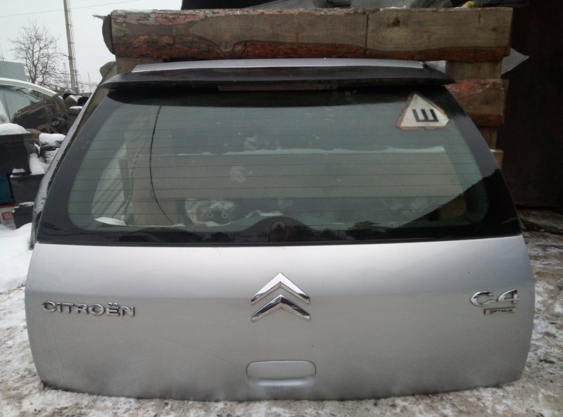 Крышка багажника Citroen C4 ХЭТЧБЕК EP6 2010 (б/у)