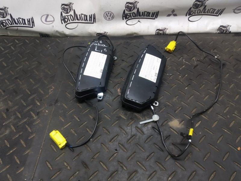 Подушка безопасности Skoda Fabia 2011 передняя (б/у)