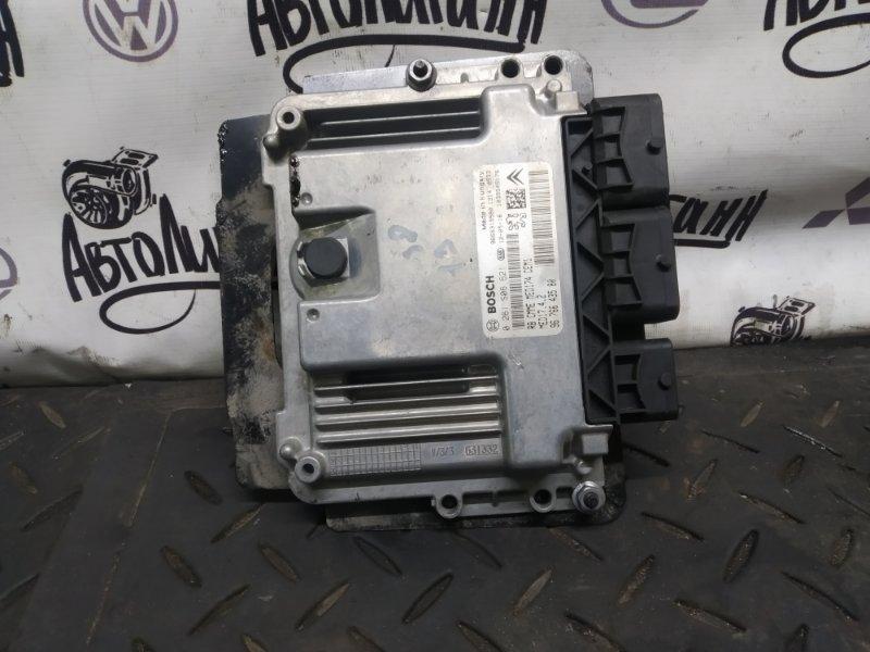 Блок управления двигателем Peugeot 3008 EP6CDTMD 2012 (б/у)