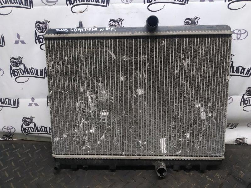 Радиатор охлаждения Peugeot 3008 EP6CDTMD 2012 (б/у)
