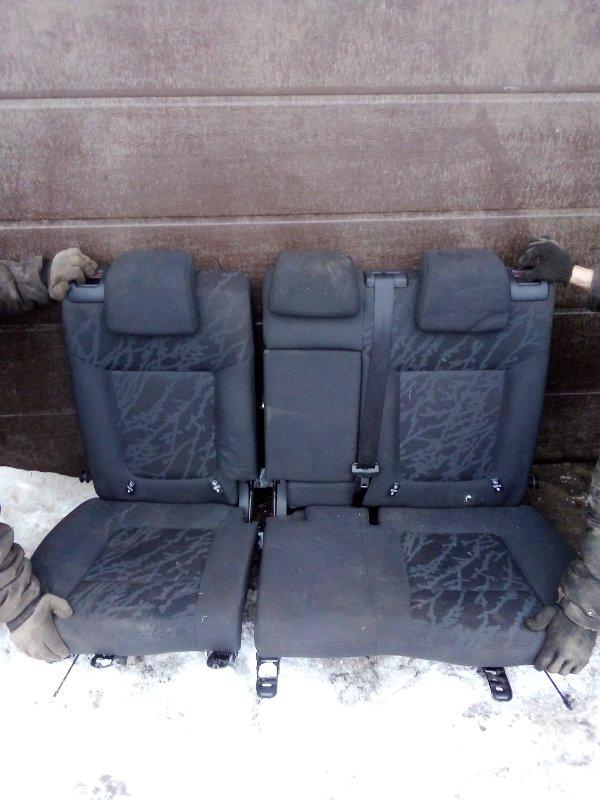 Сиденье Peugeot 3008 EP6CDTMD 2012 заднее (б/у)